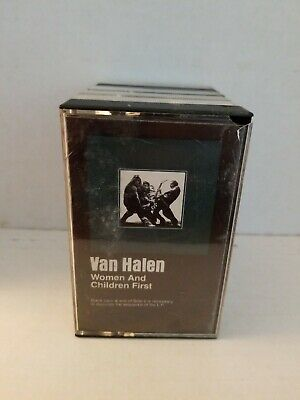 Van Halen Women And Children First Cassette Tape