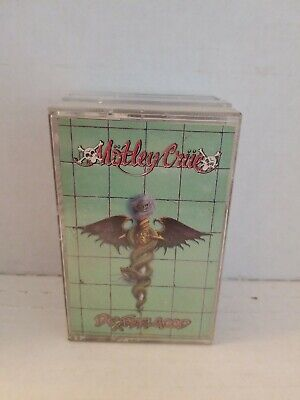 Motley Crue dr feelgood Cassette Tape