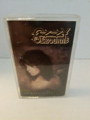 Ozzy Osbourne No More Tears Cassette Tape