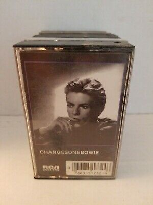 CHANGESONEBOWIE David Bowie Cassette Tape