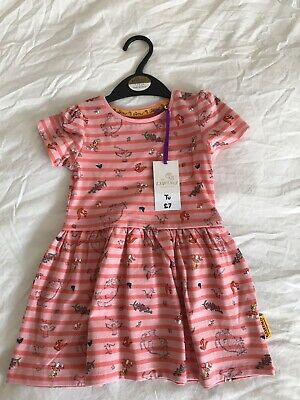 1-1.5 Years Girls Gruffalo Summer Dress New With Tags TU Cotton 12-18 Months
