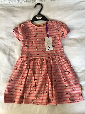 1.5-2 Years Girls Gruffalo Summer Dress New With Tags TU Cotton 18-24 Months