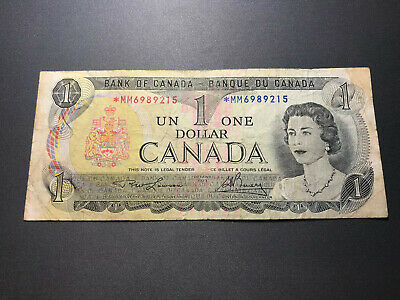 1973 Bank of Canada $1 Replacement Note -  Old Bill Nice Shape! *MM 6989215