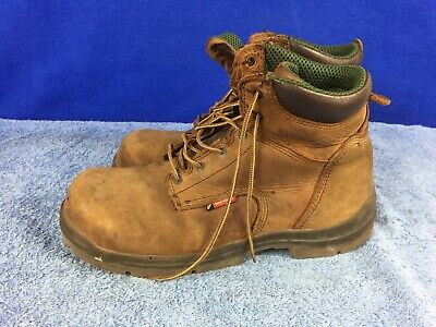 cae2dfee39f RED WING MENS King Toe ADC Black Leather WTP Safety Work 2407 Boots ...