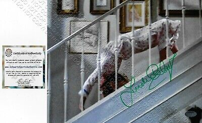 8x10 SIGNED AUTOGRAPHED PHOTO LINDA BLAIR THE EXORCIST REGAN STAIRS SPIDER CRAWL