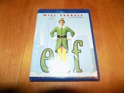 ELF Christmas Holiday Comedy Classic Will Ferrell James Caan BLU-RAY DISC NEW