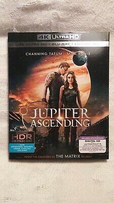 Jupiter Ascending (4K Ultra HD, Blu-ray, 2016, Digital HD, New Factory Sealed)