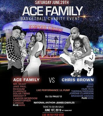 Ace Family Charity Basketball Event - 2 Tickets!