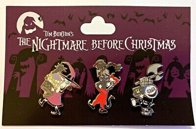 Disney Parks 3 pin set NBC Nightmare Before Christmas 3 kids pack - NEW