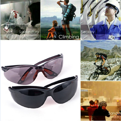 Anti-impact Clear Eye Protective Lab Factory Glasses Safety Outdoor Work Goggles
