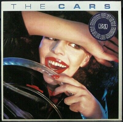 THE CARS 1978 1st pressing White label Promo LP