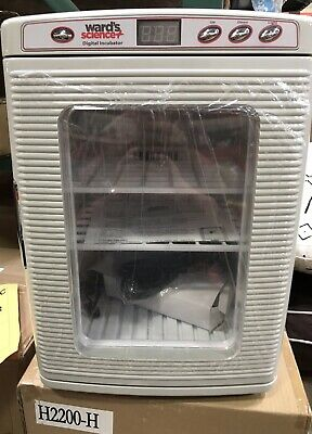 Brand new Wards Science MY TEMP MINI DIGITAL INCUBATOR #H2200-H-