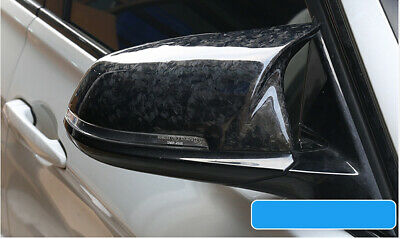 M3 M4 Style Forged Carbon Fibre Side Wing Mirror Covers Bmw F30 F20 F31 F22 F32