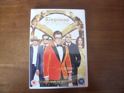 Kingsman The Golden Circle Dvd