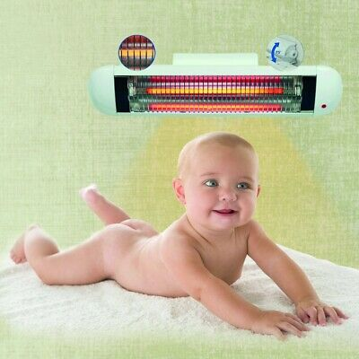 H+H Premium Changing Table Radiant Heater 600 Watt with Automatic Switch-Off