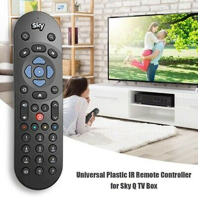New Sky Q None Touch Infrared Tv Remote Control - Free Shipping Uk