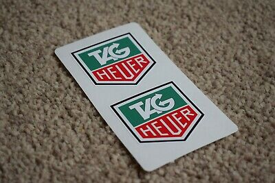 TAG T A G HEUER Motorsport Race Rally Car F1 Formula One Decal Stickers 50mm