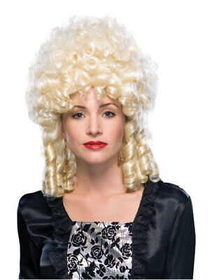 Marie Antoinette French Queen Colonial Victorian Ringlet Women Costume Wig