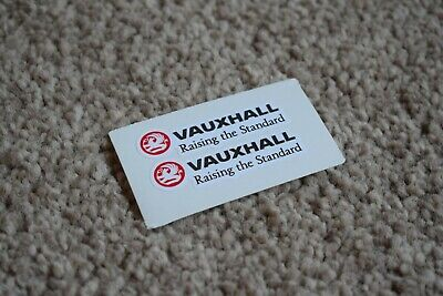 VAUXHALL SPORT Racing Rally Motorsport Race Car Decal Stickers Badge Logo 50mm