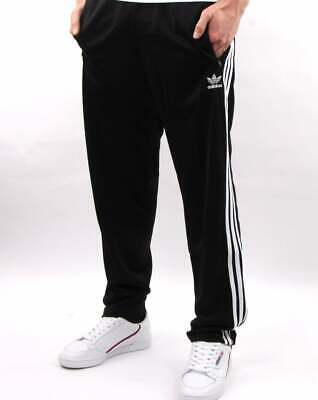 Adidas Originals Firebird Track Pants in Black - 3 stripe tracksuit bottoms