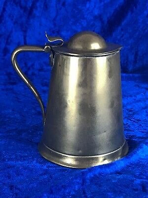 Antique Solid Brass Lidded Jug - JS & S - Joseph Sankey & Son. Circa 1903