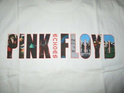"""2002 PINK FLOYD """"Echos"""" Concert (XL) T-Shirt THE WALL Wish You Were Here ANIMALS"""