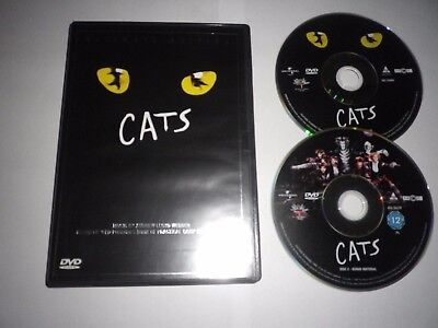 CATS THE ULTIMATE EDITION UK 2 x DVD SET