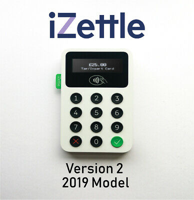 * NEW * iZettle Reader 2 Latest Card Reader 2019 Version - Contactless Payment