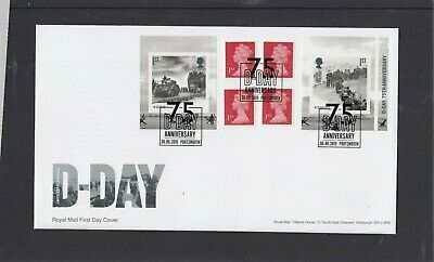 GB 2019 D Day retail stamp booklet Royal Mail FDC Portsmouth Anniversary spec pk
