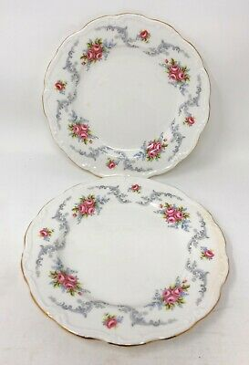 X2 Royal Albert Autumn Bone China Tranquility Tea/Side Plate 8''