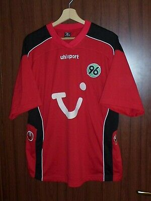 #36 HANNOVER 96 FC 1990's Football SHIRT Jersey size XL UHLsport Tricot GERMANY