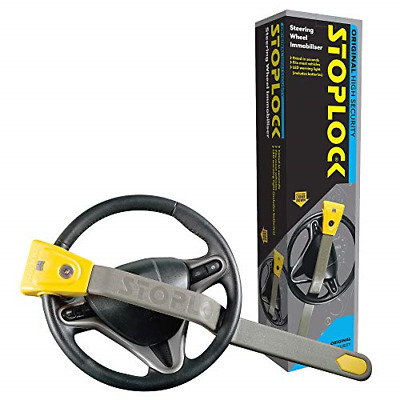 Stoplock 'Original' - Steering Wheel Lock For Cars - Secure Anti-Theft Device