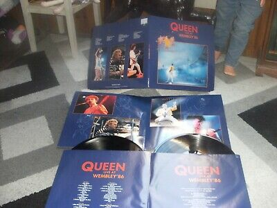 DOUBLE 33T QUEEN LIVE A WEMBLEY 1986 :made in poland: ETAT NEUF