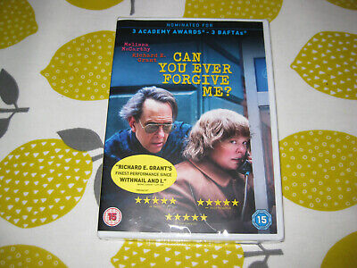 CAN YOU EVER FORGIVE ME? (2018) - Melissa McCarthy - Region 2 DVD - NEW / SEALED