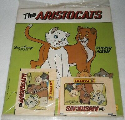 NEW & SEALED! Vintage WALT DISNEY PICTURES ~ THE ARISTOCATS, Sticker Album