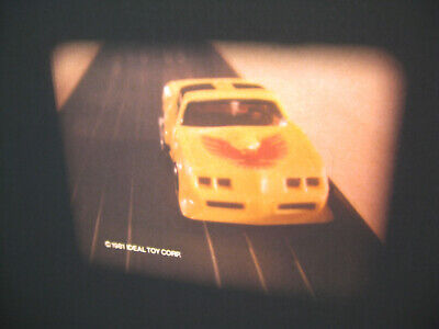 VTG 16mm IDEAL TOY Film Commercial - TCR RACING SLOT CAR TRACK TRAILER CUTOFF E4
