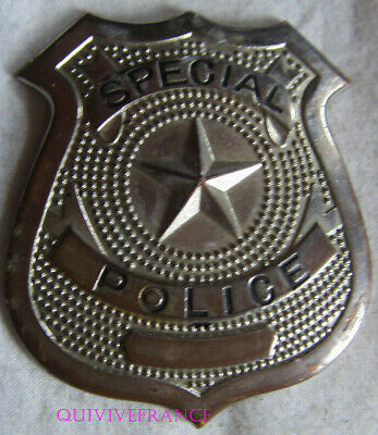 IN13198 - Obsolete SPECIAL POLICE BADGE