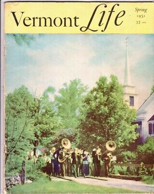 Vermont Life Magazine Spring 1951 Grafton Governor Emerson Sugar House Ferns