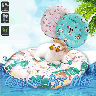 Dog Cooling Mat Pet Cat Chilly Non-Toxic Summer Cool Bed Pad Cushion Gel