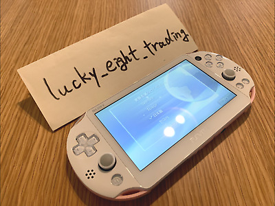 PS Vita Light Pink White PCH 2000 ZA19 Console only USED Wi Fi Sony PlayStation