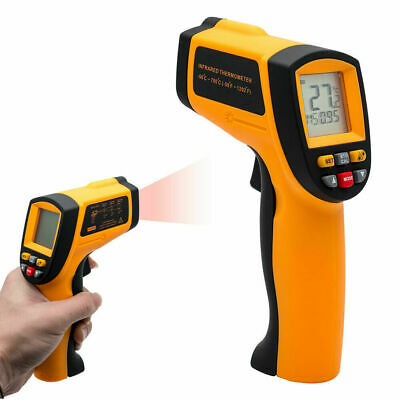 Handheld LCD Digital IR Laser Infrared Non-Contact Thermometer Temperature Gun ,
