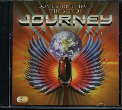 JOURNEY - Don't Stop Believin' (The Best Of) - 2xCD Album *Hits**Collection*
