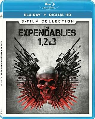 Expendables 1, 2 & 3 Sylvester Stallone R Bluray Mystery & Thrillers discs 3 NEW