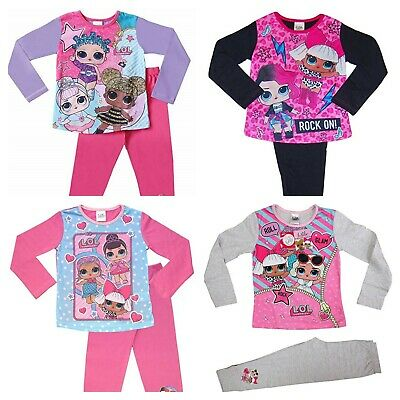 LOL Surprise Girls Long Sleeve Pyjamas Pjs Set - Sizes 4 - 10 years
