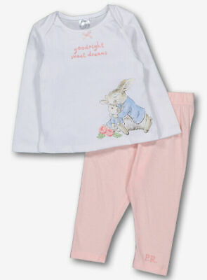 "BABY GIRL ""PETER RABBIT"" PYJAMAS SET - Up to 1m, 0-3m"