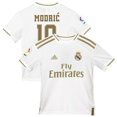 ea543ecee Luka Modric Real Madrid adidas Youth 2019/20 Home Replica Jersey - White