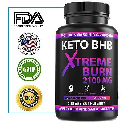 ☀ Best Keto BHB 2400mg Fat Burner Diet Pills Burn Rapid Advanced Weight Loss  ☀