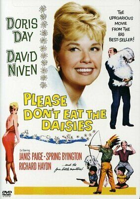 Please Don't Eat The Daisies Doris Day Janis Page Richard Haydn Spring Byington