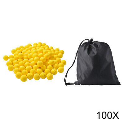 068360c26840ea 100x Round Refill Pack Replace Bullet Ball for Nerf Rival Apollo Zeus Gun  TH829