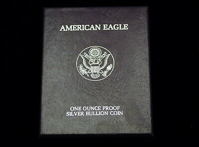 1986 American Eagle One Ounce Proof Silver Bullion Coin Ogp With Coas #Lotm8